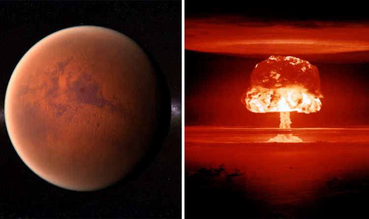 Mars was 'destroyed by interplanetary NUCLEAR WAR' in battle