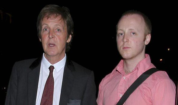 Paul McCartney And His Son James