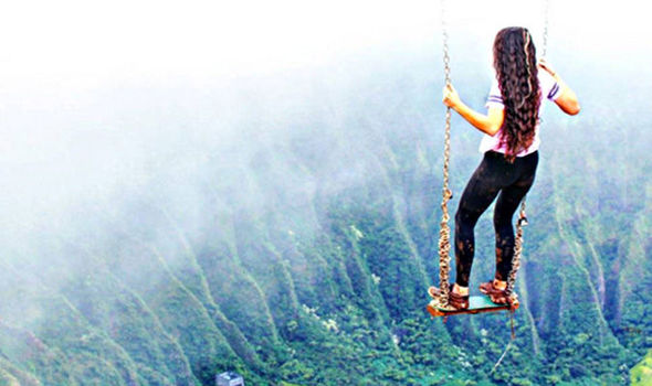 Hawaii S Most Illegal Hike Now Has A Swing Would You Try It