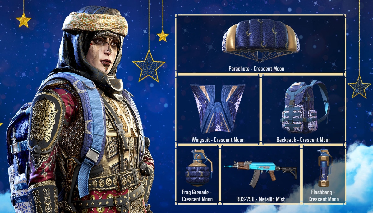 Call Of Duty Mobile New Free For All Event Cresent Moon Skins