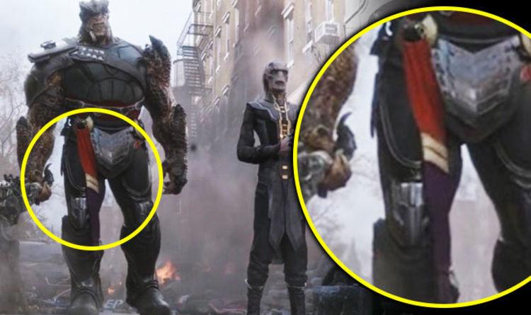 Avengers Infinity War Easter Egg Did You Spot The Hidden Captain