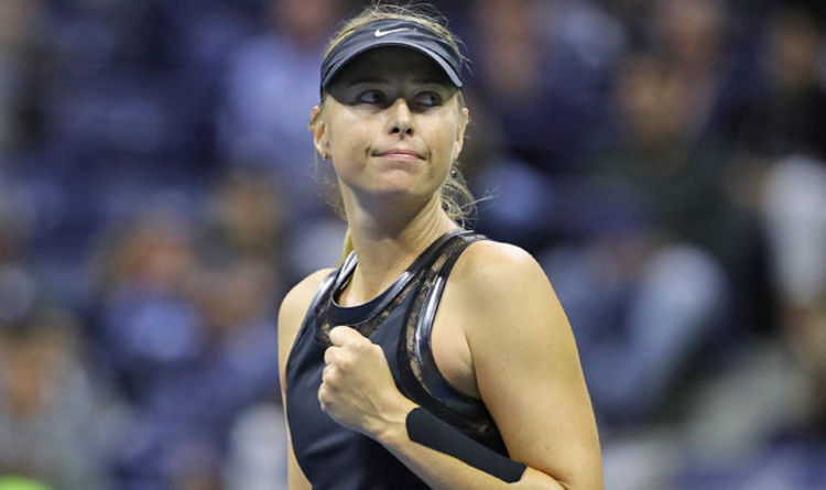 Us Open 2017 Maria Sharapova Bidding To Improve After Unconvincing Win Over Sofia Kenin Tennis Sport Express Co Uk
