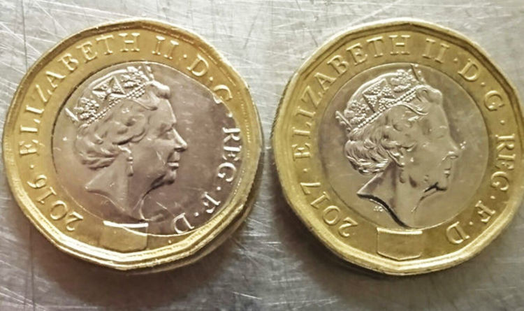 Pound coin: One of these £1 coins is worth £10,000: Can you tell