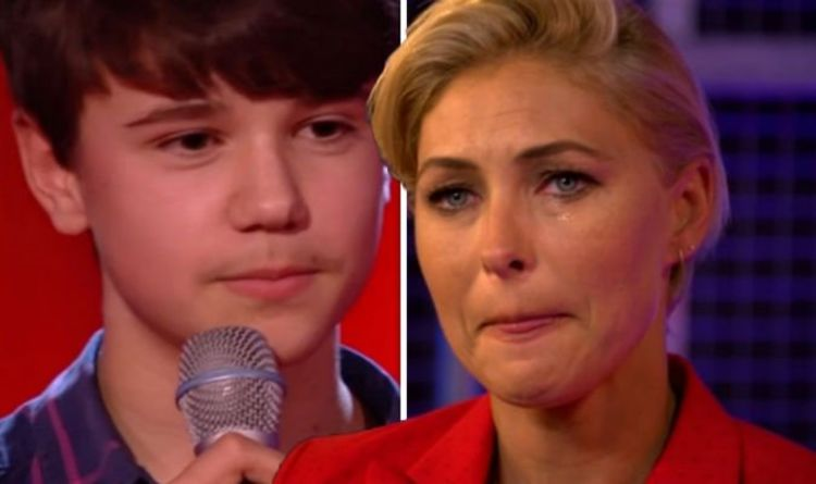 The Voice Kids 2019: Emma Willis is in tears after contestant Sam's