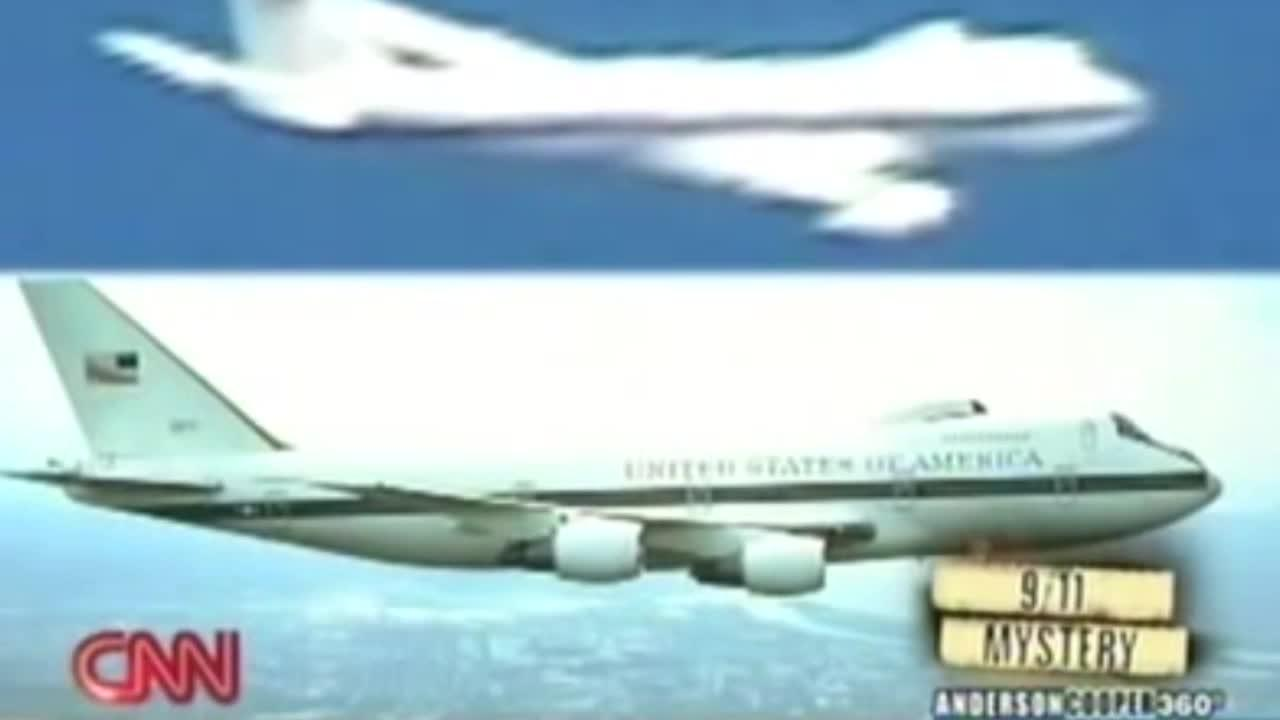 Us Doomsday Plane Seen Above White House During 9 11 Videos
