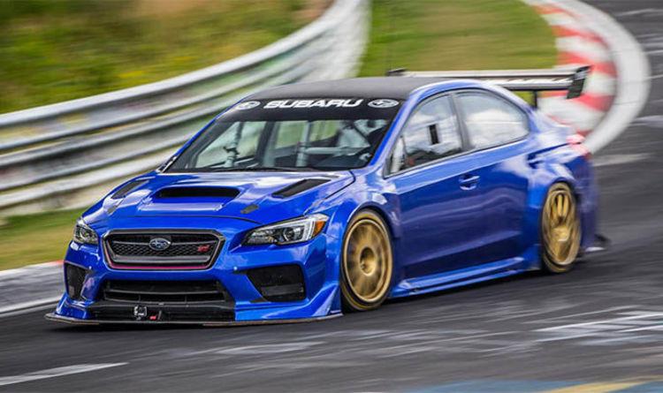Subaru Wrx Sti Lands Nurburgring Lap Record Express Co Uk