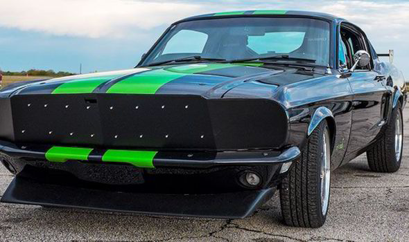 Clic 1968 Ford Mustang Electric
