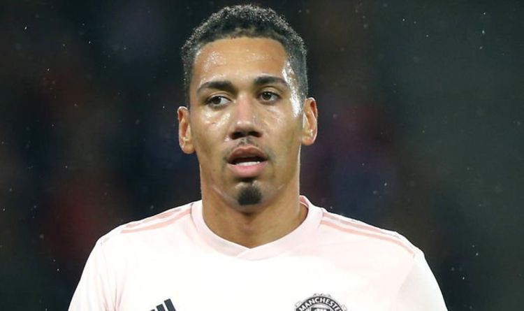 6cbe59ff79f Man Utd want one player to be the next Chris Smalling as they hatch  transfer plan