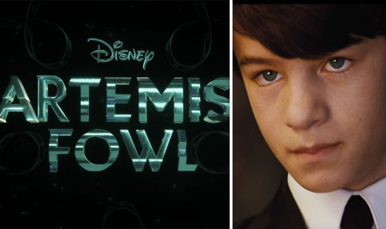 Artemis Fowl Trailer Eoin Colfer Book Gets Movie With Judi Dench