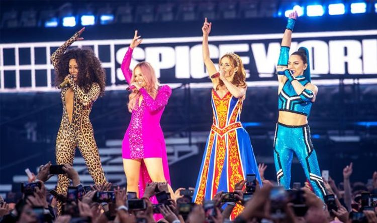 bfbd5a88725a Spice Girls 2019 tour: Fans WALKED OUT and demand REFUNDS over more sound  problems