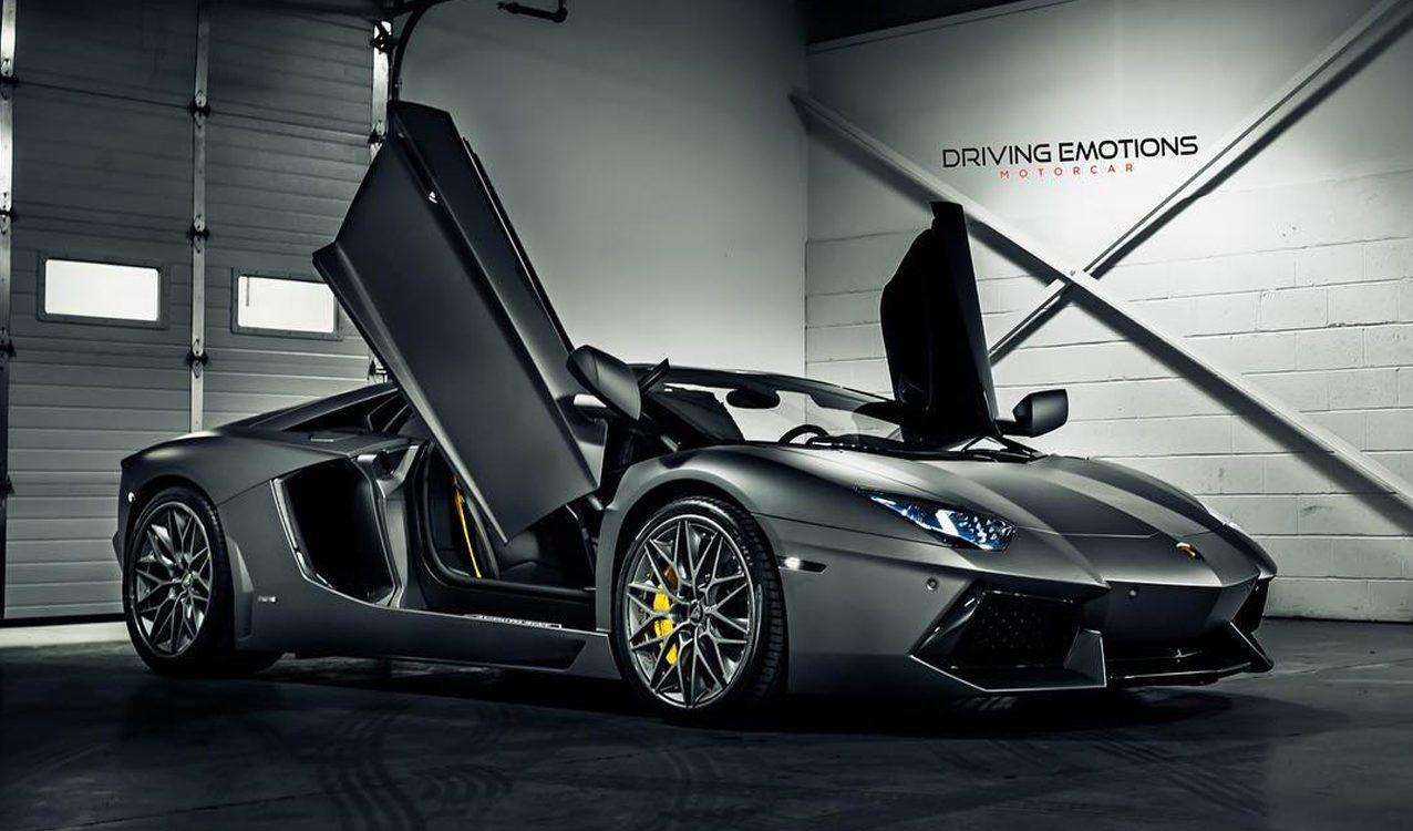 Drake Just Got A New Lamborghini Aventador Roadster