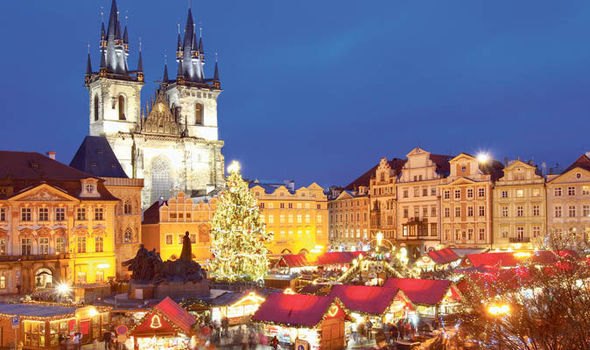 this prague setting has all the christmas