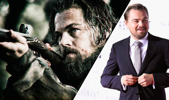 Leonardo Dicaprio As Hugh Glshooting A Firearm