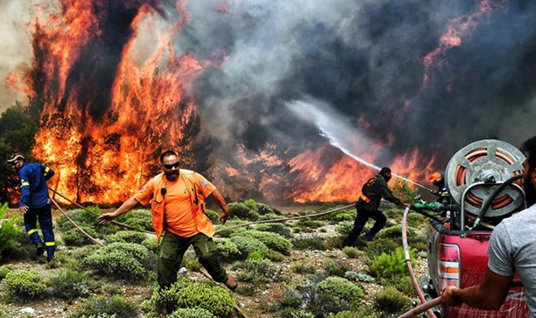 greece fire latest what caused the fires how many are dead
