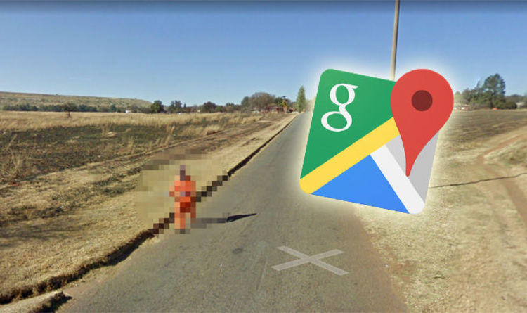 Google Maps street view photographs mysterious man - but WHO is he ...
