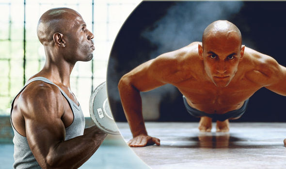 Is your gym regime making you bald  Experts in workout warning ... ab80ebf87f87
