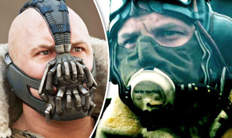 Christopher Nolan Reveals Why He Keeps Covering Tom Hardy S Face Films Entertainment Express Co Uk