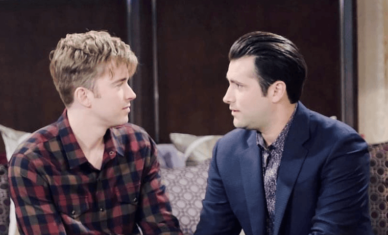 Days Of Our Lives Spoilers What S Going On With Sonny Kiriakis Freddie Smith On Dool Daily Soap Dish