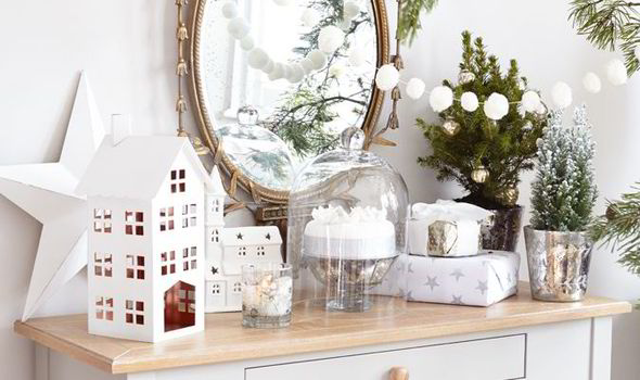 Best white and silver decorations for christmas 2014 express.co.uk