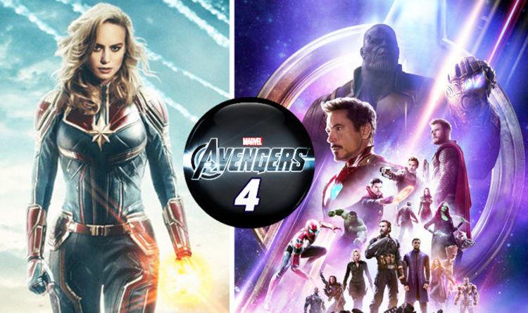 Avengers Infinity War Ending Nick Fury Captain Marvel And Avengers