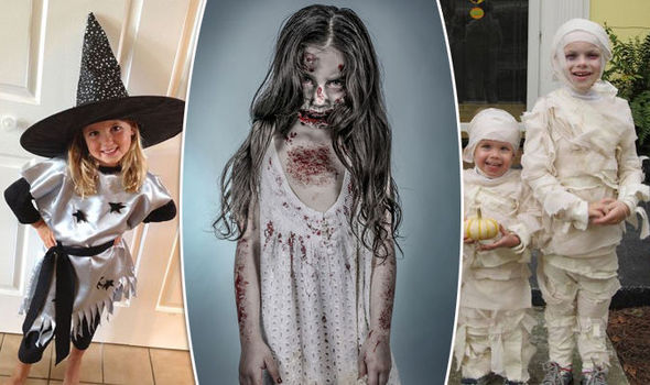 Diy Guide To Making Childrens Halloween Costumes Express Co Uk