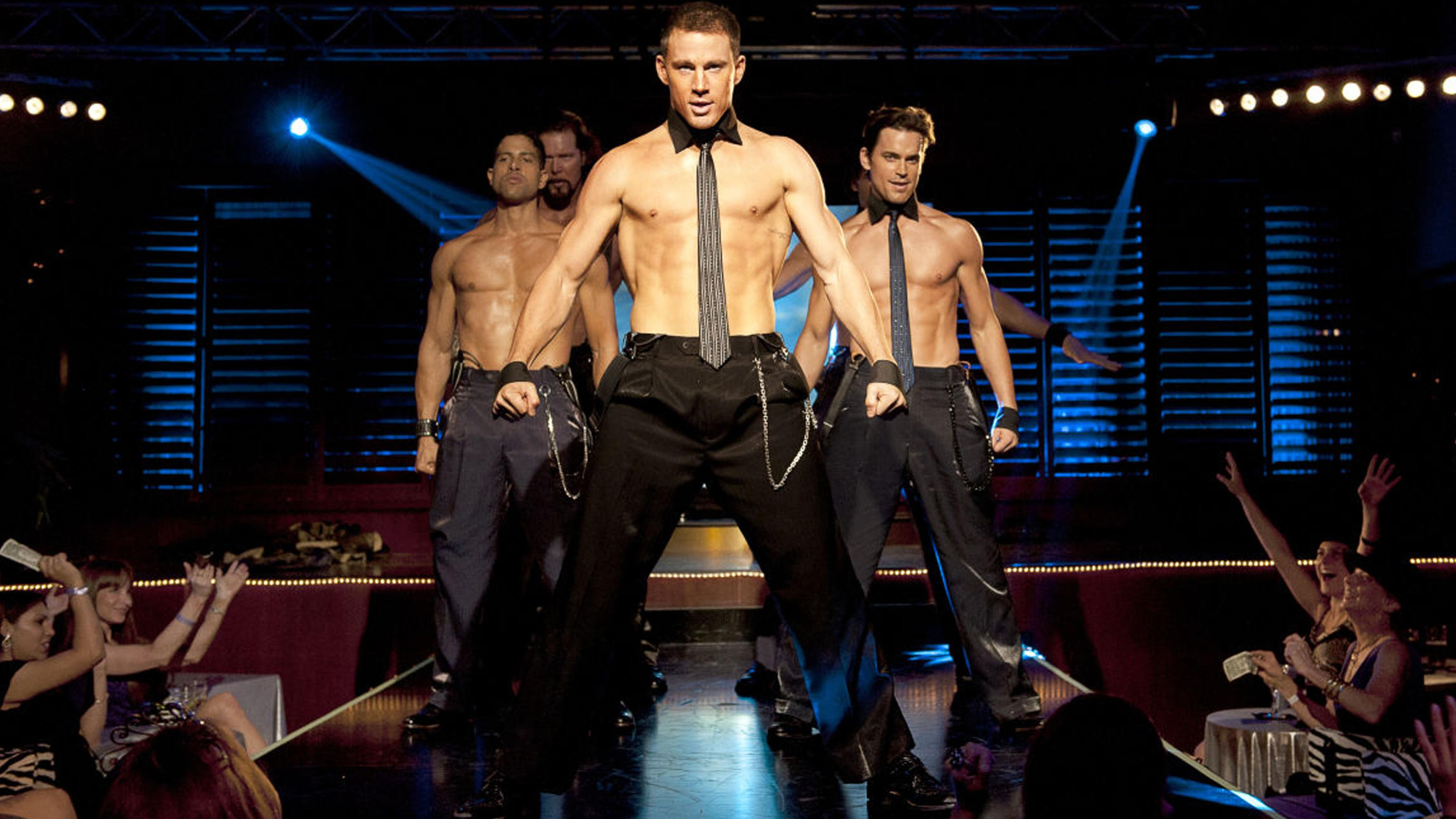 A night with the oiled hunks of Magic Mike