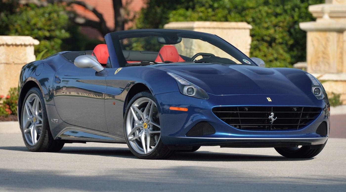 2017 Ferrari California T Anniversary Heading To Mecum Monterey
