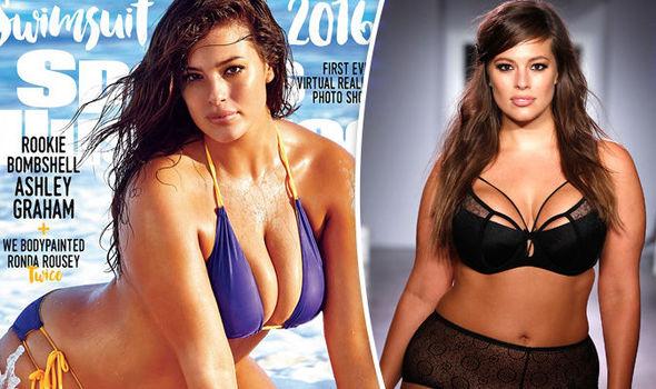 Sports Illustrated Plus size babe Ashley Graham Swimsuit
