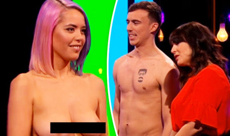 Naked girl lineup vaginas touching