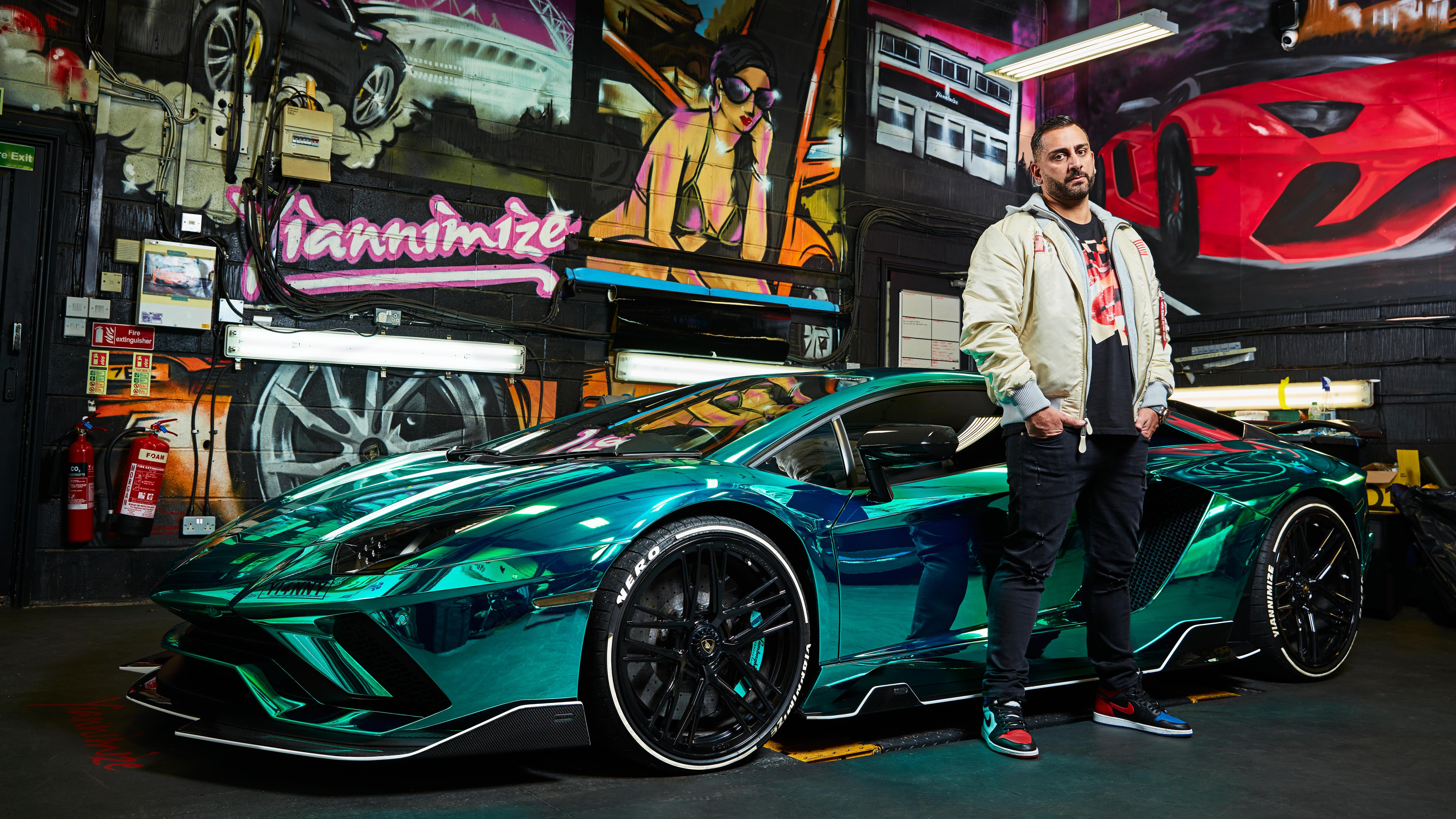 Yianni Charalambous Interview Supercar Wrapper To The Rich And