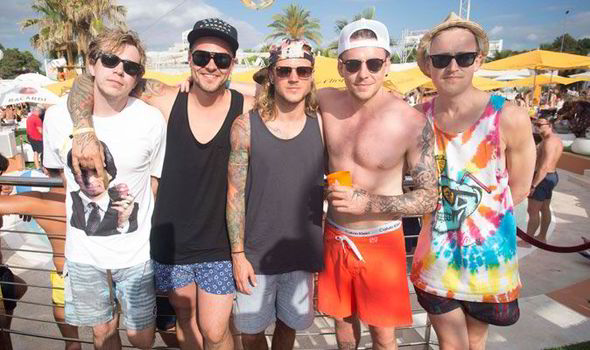 mcbusted party in ibiza during danny jones stag do celebrity news
