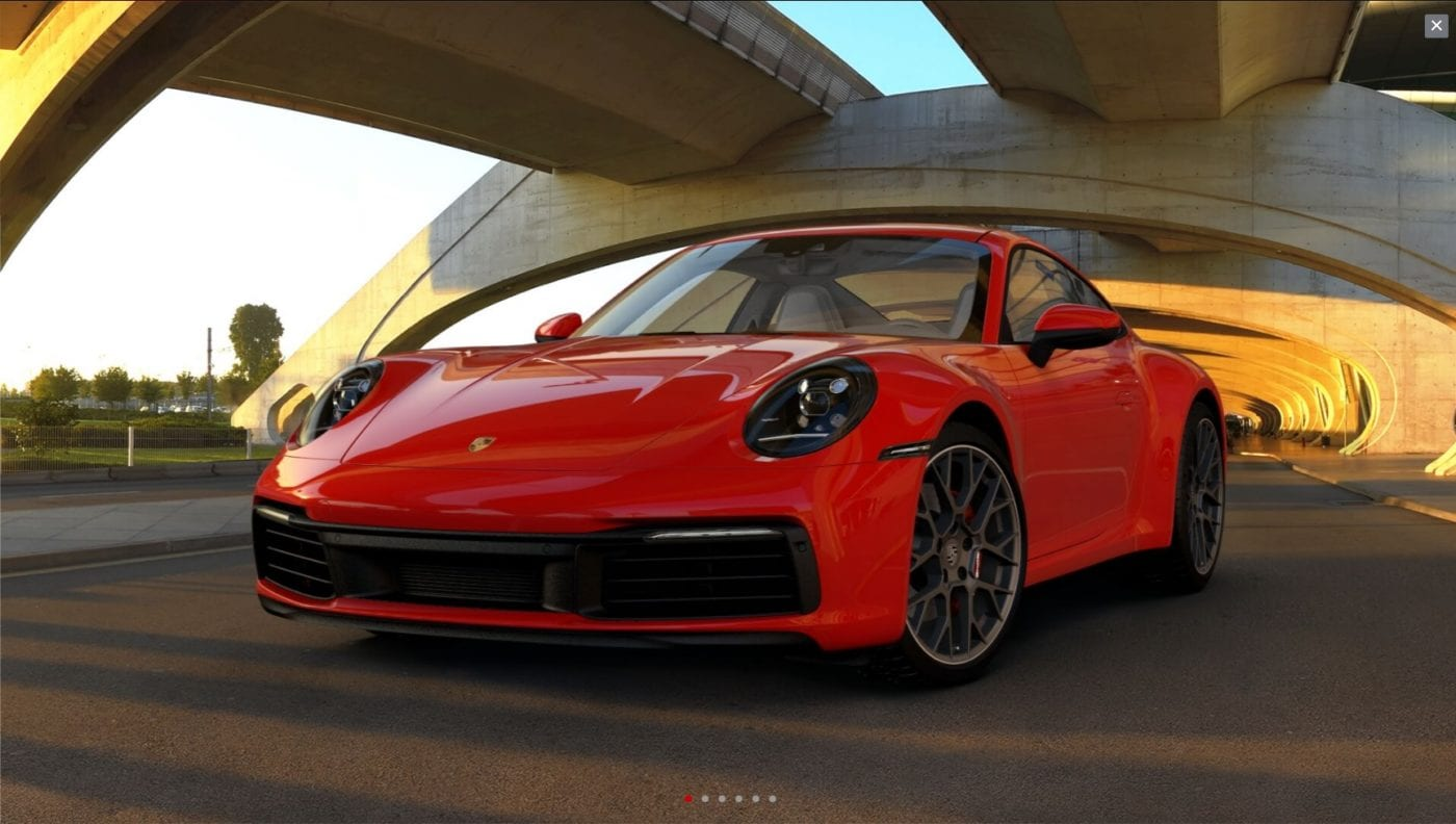 2020 Porsche 911 Carrera S Configurator Is Live