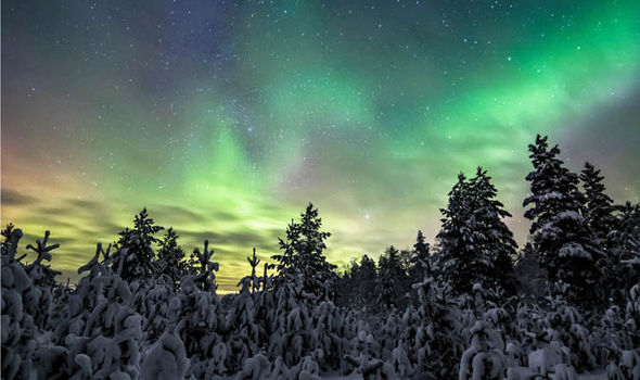 the stunning photos captured in finland getty the northern lights