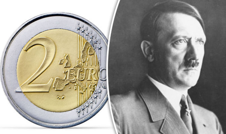 Outrage As Two Euro Coin With Nazi Swastika And Ss Symbols Found In