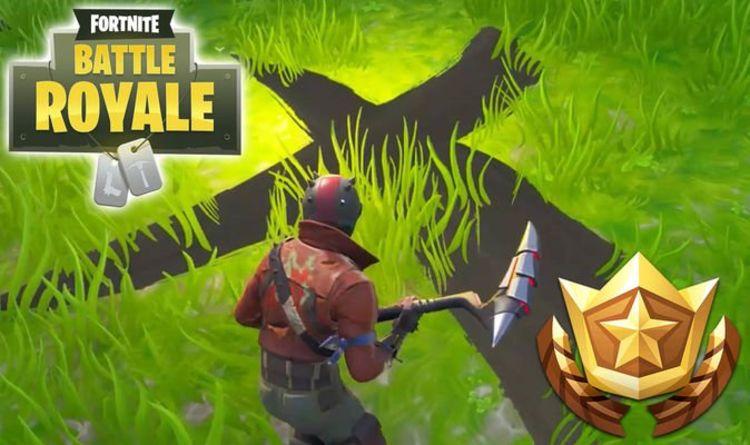 Fortnite season 8 week 3 treasure map