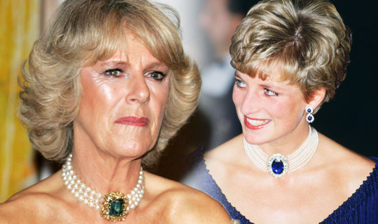 Princess Diana Jewellery Style Copied By Prince Charles Wife Camilla