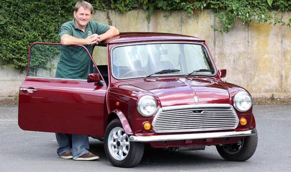 Classic Car Has Never Been Registered Uk News Express Co Uk