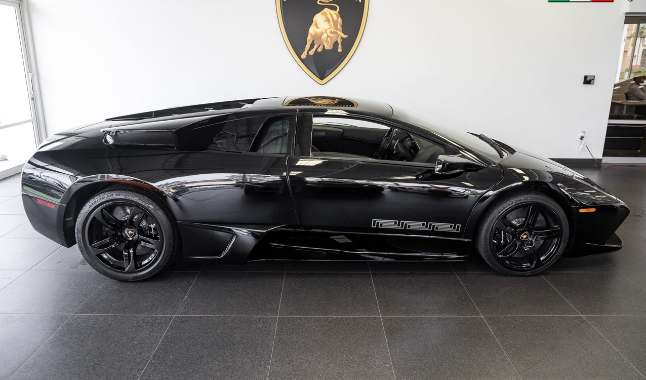 1 Of 10 Versace Edition Lamborghini Murcielago Lp640 Coupe For Sale