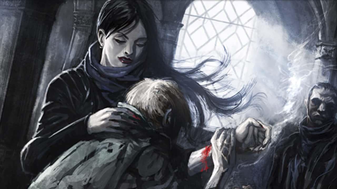 vampiro a máscara