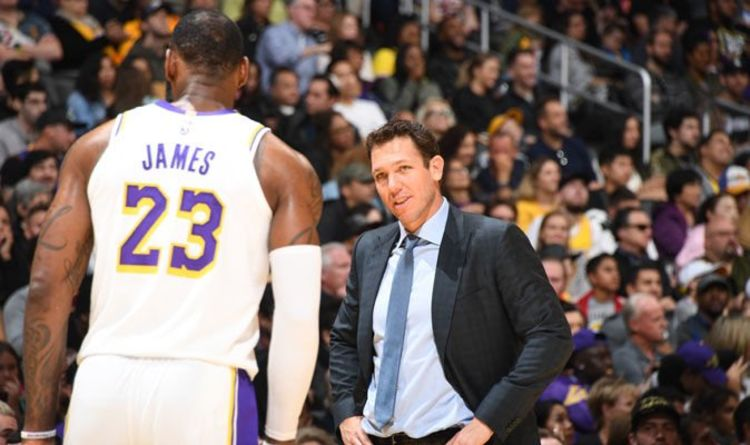 e327cc565da NBA news  Lakers coach Luke Walton reveals how LeBron James and co can  improve