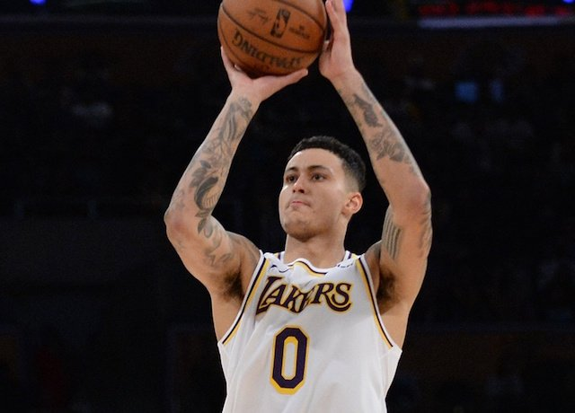 5ce4194a0ee Lakers News  Kyle Kuzma Working On All-Around Game To Conclude 2018-19 NBA  Season