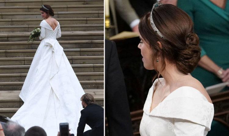 Princess Eugenie Wedding Hair How To Recreate Soft Waved Chignon