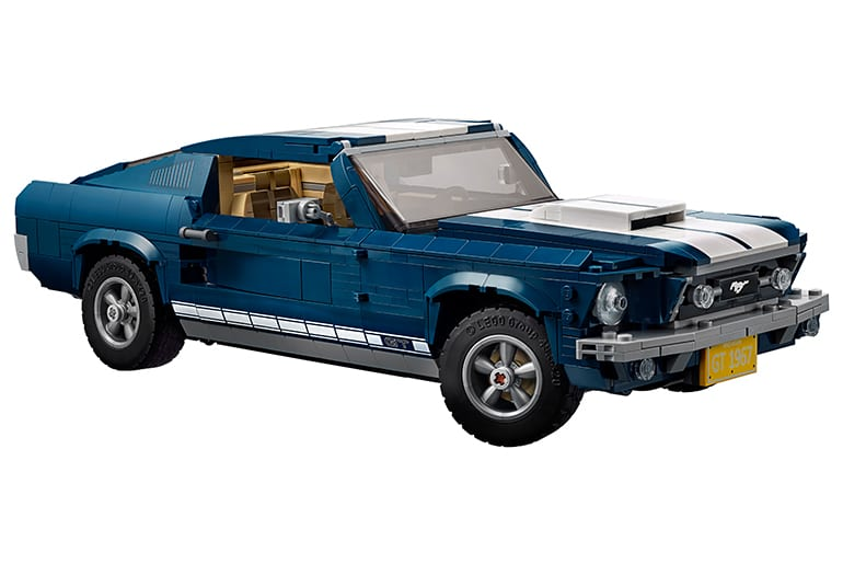 Build Your Own Mustang >> Build Your Own Lego 1960s Ford Mustang Over 1 Foot Long