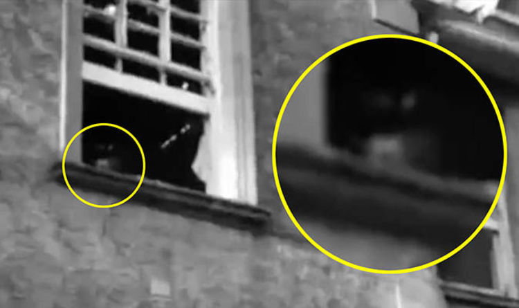 Watch Ghost Hunters Threatened By Spirit In Hospital Window Weird News Express Co Uk
