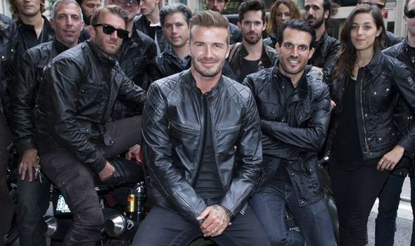 ec5d96bc5347 David Beckham  Belstaff clothing range model and designer