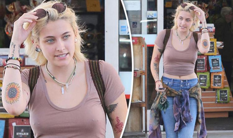 Paris Jackson flaunts nipple rings as she goes braless AGAIN amid shock gas  station spat