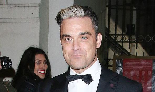 is Robbie gay williams