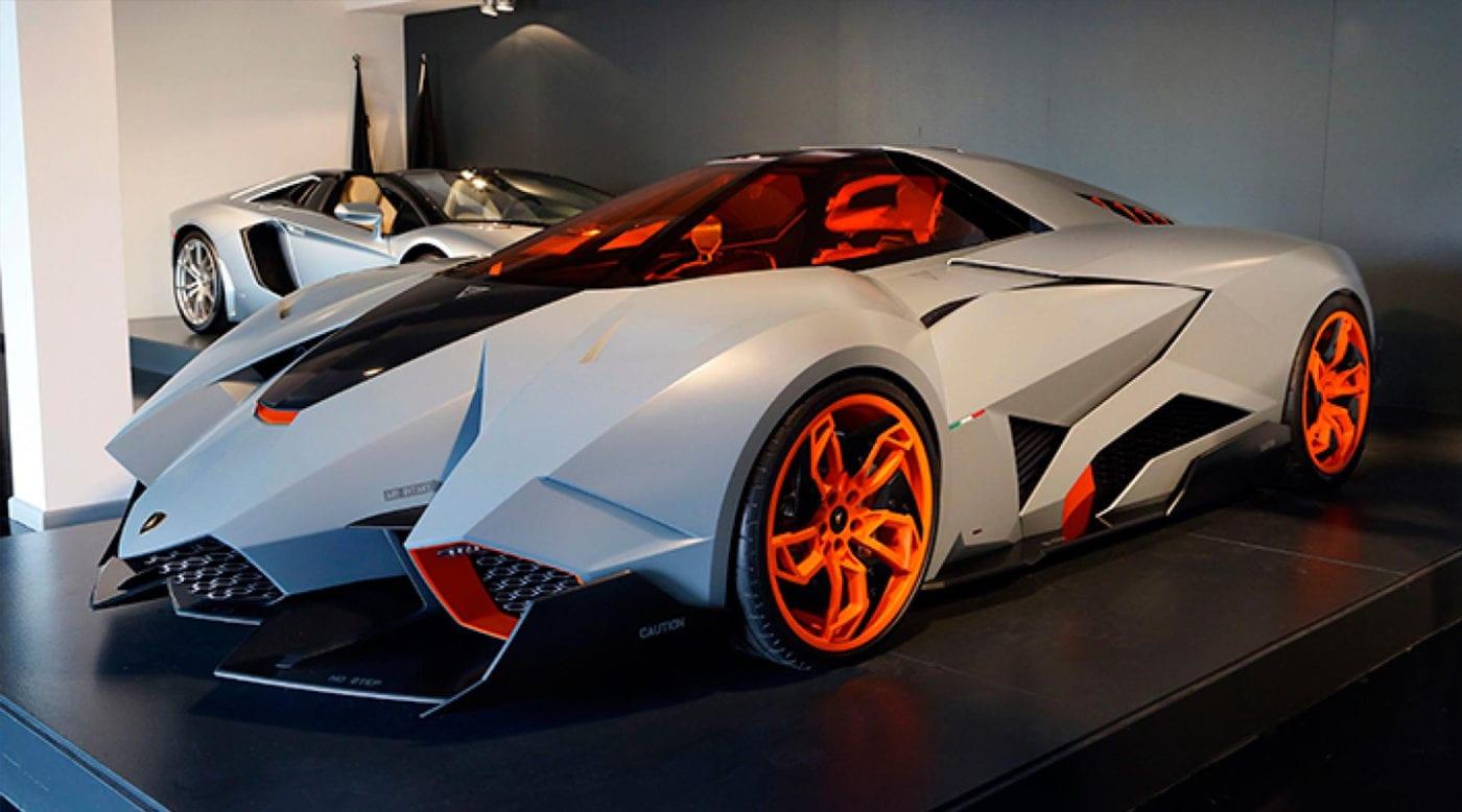 Top 5 Lamborghini Concept Cars