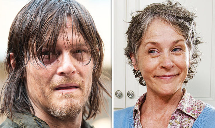 daryl and carol romance season 9